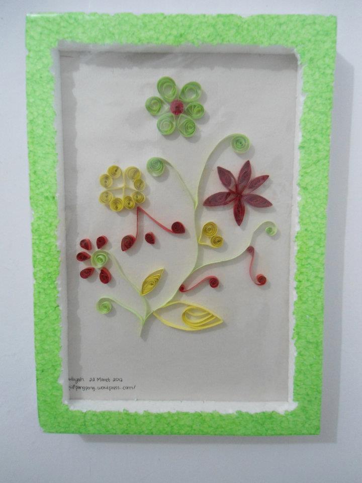 paper quilling bunga | Nadiyah Quilling